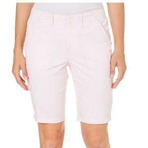 NWT Gloria Vanderbilt Women's Marion Cargo Shorts